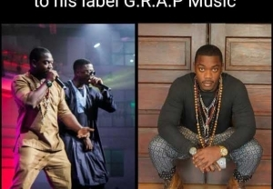 Rapper Vector Signs New Artiste – AO   Check Out His Freestyle